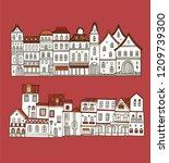 spanish  portugal   french... | Shutterstock .eps vector #1209739300
