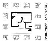 final approve icon. web...