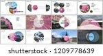 minimal presentations design ... | Shutterstock .eps vector #1209778639