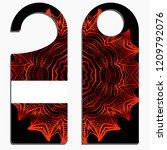 hanger badge.vector... | Shutterstock .eps vector #1209792076