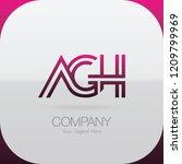 logo letter combinations a  g...   Shutterstock .eps vector #1209799969