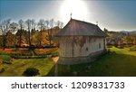 humor monastery   romania | Shutterstock . vector #1209831733
