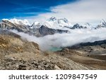 Panoramic View Of Mount Everes...