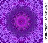 ornamental ethnic seamless... | Shutterstock .eps vector #1209849850