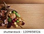Thanksgiving Cornucopia Fill In ...