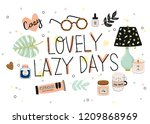 Cute Vector Illustration With...