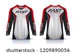t shirt sport design template ... | Shutterstock .eps vector #1209890056