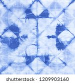 abstract tie dyed fabric of... | Shutterstock . vector #1209903160