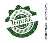 green injure distress rubber... | Shutterstock .eps vector #1209911893