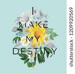 typography slogan with vintage... | Shutterstock .eps vector #1209920569