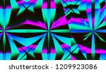 3d abstract computer generated...   Shutterstock . vector #1209923086
