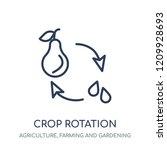 crop rotation icon. crop...   Shutterstock .eps vector #1209928693