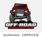 off road car logo template | Shutterstock .eps vector #1209931516