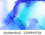 hand painted ink texture.... | Shutterstock . vector #1209943726