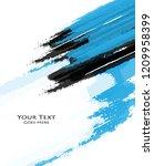 grungy vector design | Shutterstock .eps vector #1209958399