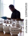 coffee professional q grader... | Shutterstock . vector #1209960520