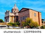 Roman Forum In Rome With Curia...