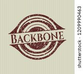 red backbone distressed grunge... | Shutterstock .eps vector #1209990463