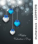 valentines day  love background.... | Shutterstock .eps vector #120999598