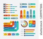 presentation infographics.... | Shutterstock .eps vector #1209997606