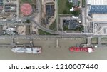 aerial top down photo of... | Shutterstock . vector #1210007440