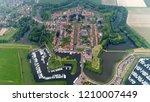 high altitude bird view photo... | Shutterstock . vector #1210007449