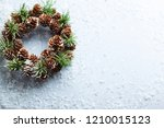 christmas and new year holidays ... | Shutterstock . vector #1210015123
