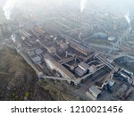 aerial view of big factory in... | Shutterstock . vector #1210021456
