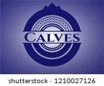 calves denim background | Shutterstock .eps vector #1210027126