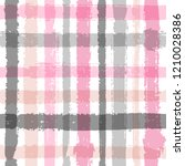 crossed lines chequered pattern ... | Shutterstock .eps vector #1210028386