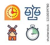 precision icon set. vector set... | Shutterstock .eps vector #1210039780