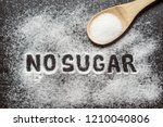 diet and weight loss  denial of ... | Shutterstock . vector #1210040806