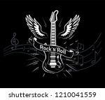 Rock'n'roll Music Style  Guitar ...