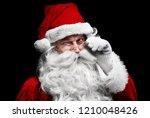 Man In Santa Claus Costume...