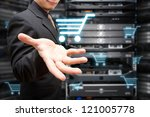 programmer take control the on... | Shutterstock . vector #121005778