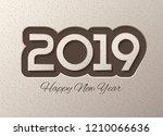 chocolate style realistyc 2019... | Shutterstock .eps vector #1210066636