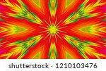 abstract six directional... | Shutterstock . vector #1210103476