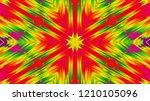 abstract six directional... | Shutterstock . vector #1210105096