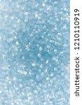 brilliant blurred glitter... | Shutterstock . vector #1210110919