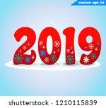 simple flat cartoon style... | Shutterstock .eps vector #1210115839