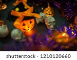 halloween theme party... | Shutterstock . vector #1210120660