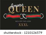 slogan with ribbon and linked... | Shutterstock .eps vector #1210126579