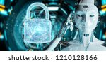 web security protection... | Shutterstock . vector #1210128166