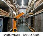 smart robot industry arm... | Shutterstock . vector #1210154806