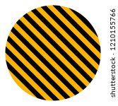 circle with yellow and black...   Shutterstock .eps vector #1210155766