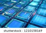 Futuristic Cpu. Quantum...