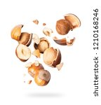 Hazelnuts Crushed In The Air...