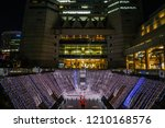 dockyard garden lights up    Shutterstock . vector #1210168576