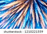 festive sparkling background... | Shutterstock .eps vector #1210221559