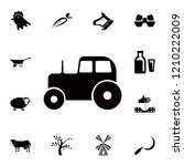tractor icon. detailed set of... | Shutterstock .eps vector #1210222009